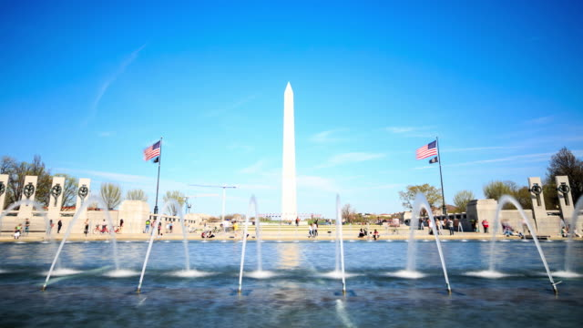4 K Zeitraffer: Washington Monument