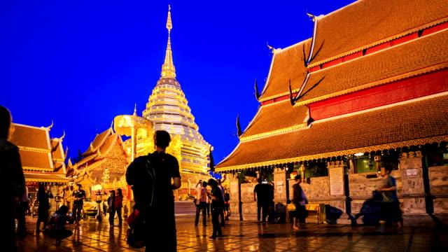 HD-Time lapse: Con vista a la ciudad de Bangkok día con el principal