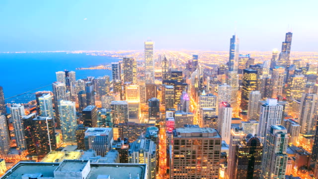 HD Time lapse:Chicago Skyline