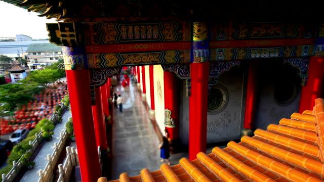 タイムラプス:中国寺院 - ノンタブリー県点の映像素材/bロール