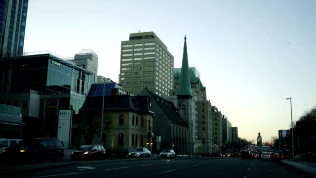 time lapse:downtown ottawa - ottawa stock videos and b-roll footage