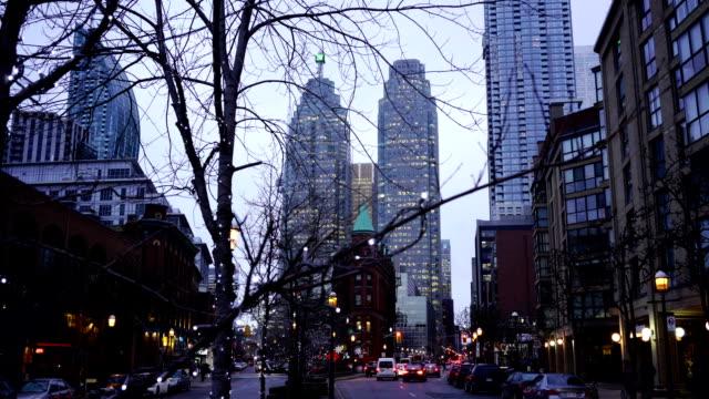 Time lapse:Downtown Toronto, Ontario