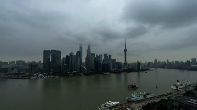 4K Time Lapse-Shanghai Bund