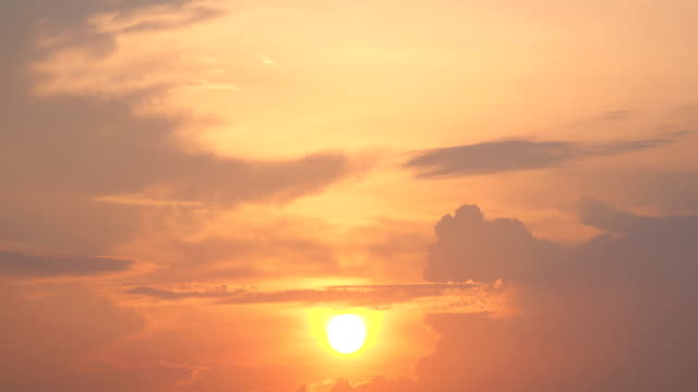 time lapse:sunset clouds - day and night image series stock videos & royalty-free footage