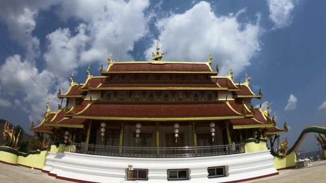 Time Lapse:Thai temple