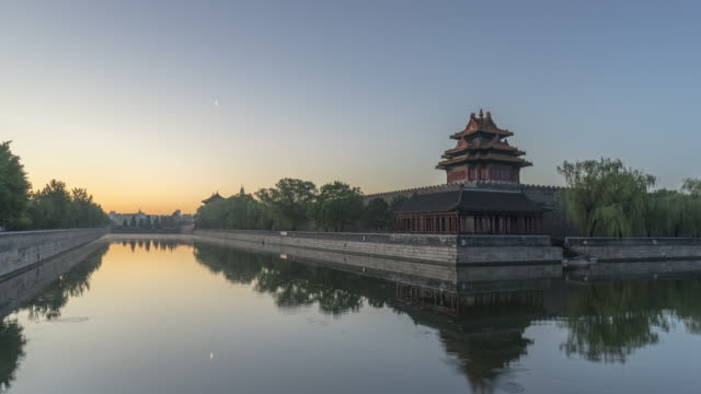 time lapse-the forbidden city - forbidden city stock videos & royalty-free footage