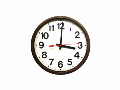 time moving quickly on clock - mpeg videoformat stock-videos und b-roll-filmmaterial