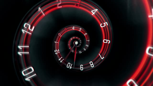 time spiral - loopable - spiral stock videos and b-roll footage