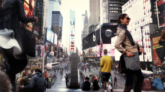 Time Square Cinemagraph Parallax 4K