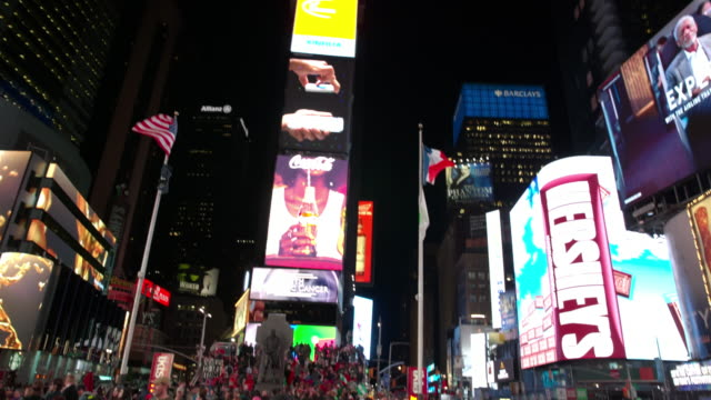 POV Time Square New York City point of view people