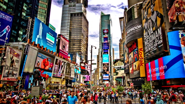 time square. new york - times square manhattan stock videos & royalty-free footage