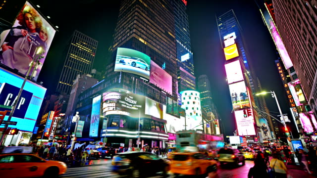 time square. shop - nightlife stock videos & royalty-free footage