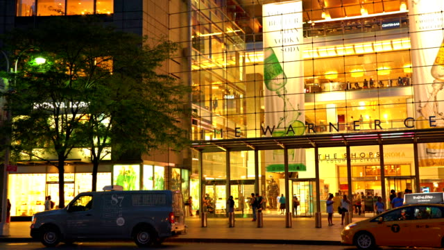 time warner center and crowd - time warner center stock videos & royalty-free footage