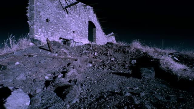 timelap209 destroyed building (infrared)