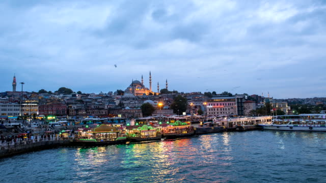 4k timelaps : istanbul the capital of turkey. - istanbul province stock videos & royalty-free footage