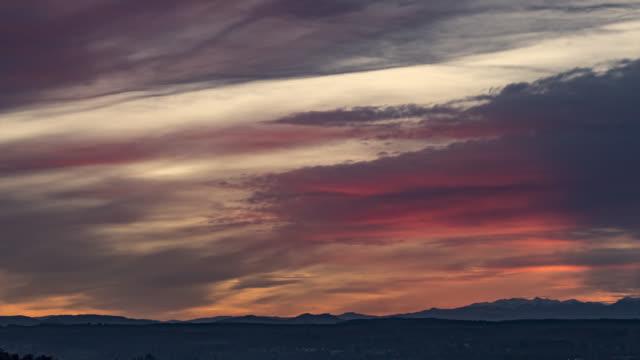 vidéos et rushes de timelapse 4k of sunset - vincent pommeyrol