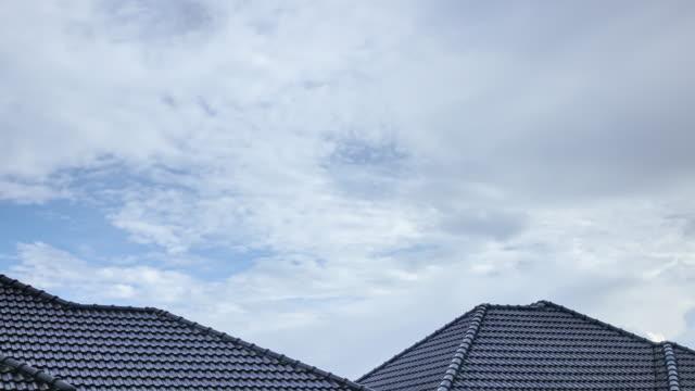 Zeitraffer 4 k, Regen Wolken Himmel