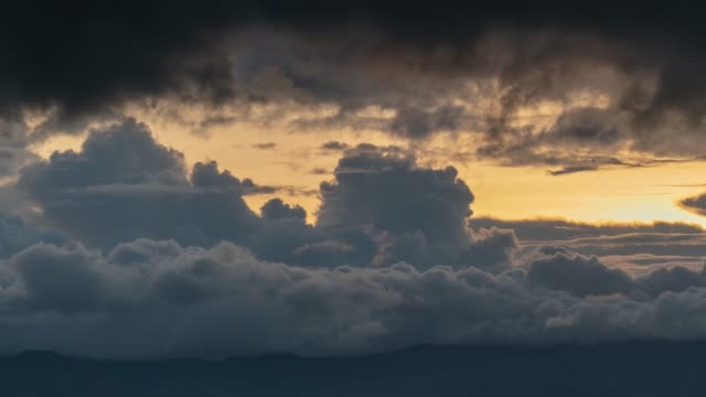 timelapse - angry storm cloud - atmospheric mood stock videos & royalty-free footage