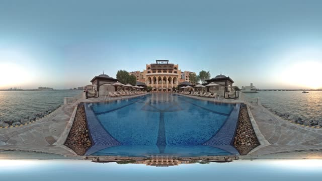 Timelapse at Abu Dhabi Beach Resort