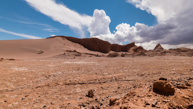 timelapse at atacama desert, chile - chile stock videos and b-roll footage