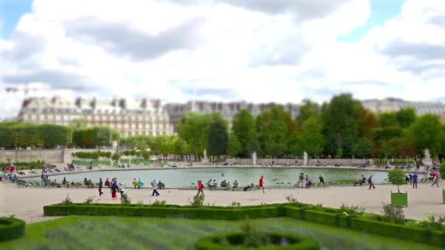 Timelapse im Jardin des Tuileries