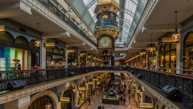 Timelapse at the famous Victoria Building, Sydney