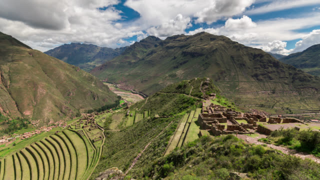 Timelapse at the ruin of Pisac