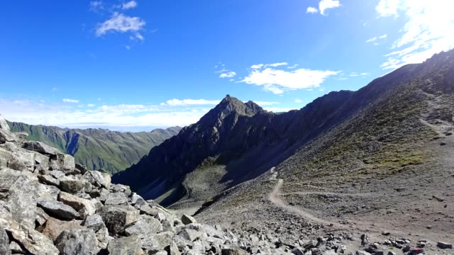 Time-lapse: Austrian Alps in Stubaital in summer