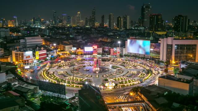 4K Time-lapse: Bangkok Downtown Skyline