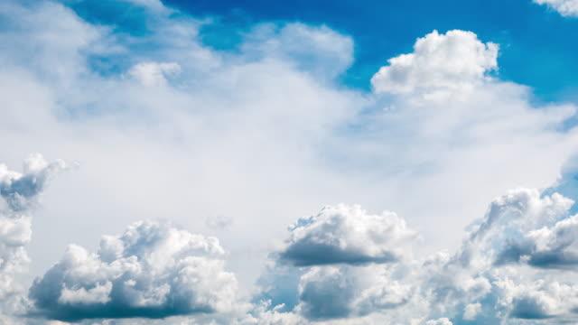 Timelapse Beautiful cloudscape