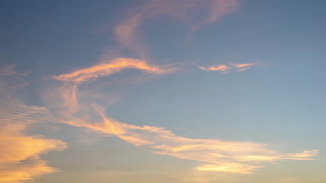 time-lapse : beautiful sunset and cloud moving - red cloud sky stock videos & royalty-free footage