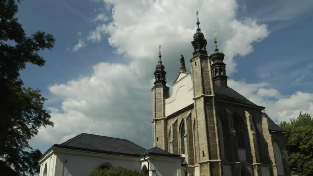 Timelapse Bone Church Kutna hora Czech Republic