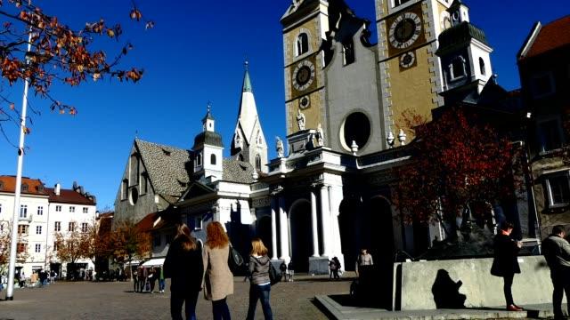 Timelapse Brixen Stadtplatz, Italien