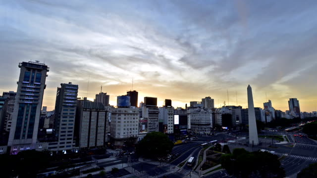 time-lapse :buenos aires, argentina - buenos aires stock videos and b-roll footage