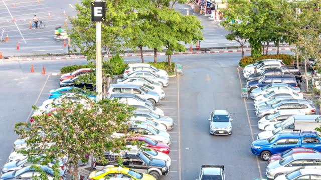 Timelapse-Parkplatz