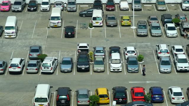 Time-lapse - Car parking lot