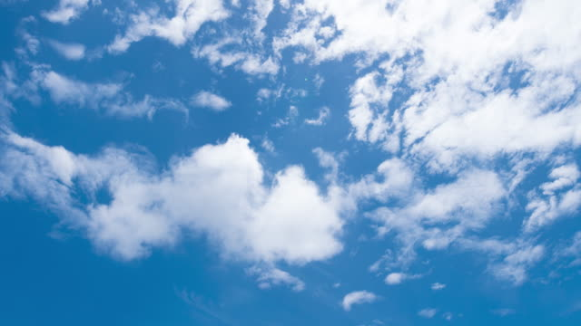 4k timelapse: cloud in daytime. - stratus stock videos & royalty-free footage