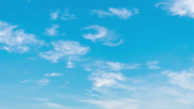 3K effet time-lapse: Cloud en été.