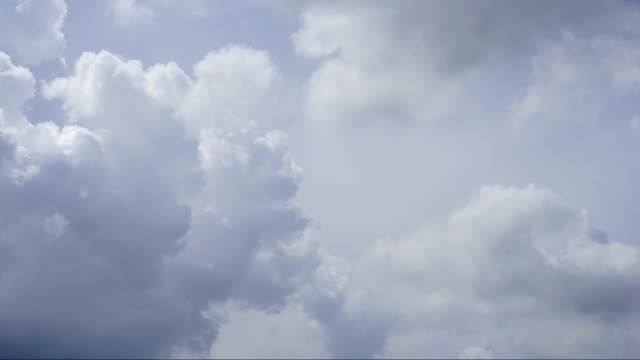Timelapse Clouds Cumulonimbus Before the storm
