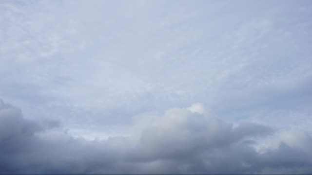 timelapse clouds cumulonimbus before the storm - cirrocumulus stock videos & royalty-free footage