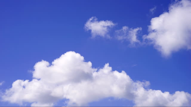 timelapse clouds cumulonimbus - cirrocumulus stock videos & royalty-free footage