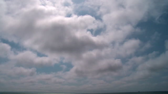 time-lapse: clouds moving in the sky - fast motion stock videos & royalty-free footage