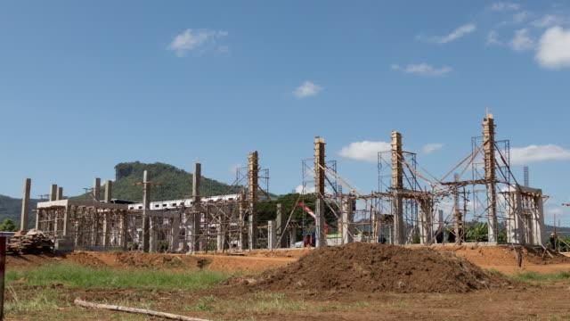 Timelapse : Construction site