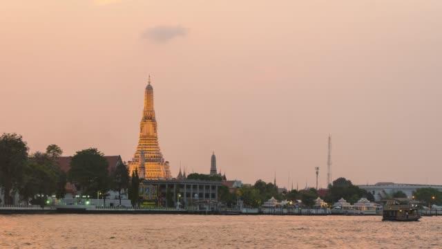 4K Timelapse dag naar nacht: Wat Arun