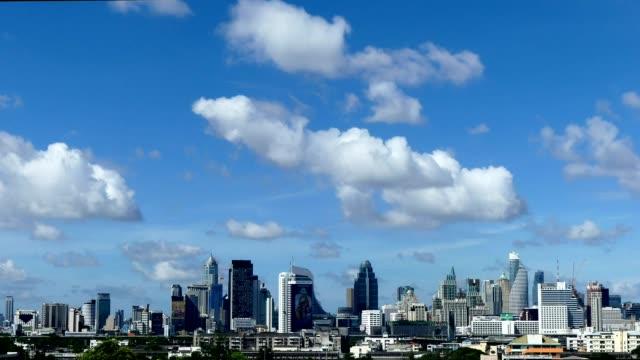 タイムラプス夏時間バンコク市内 - 空気点の映像素材/bロール