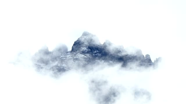 Timelapse Dolomites alps, Italy