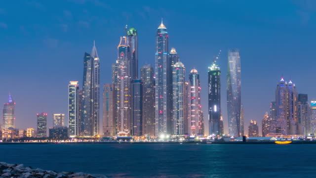 4K Timelapse Dubai day to night