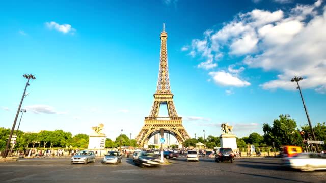 HD Timelapse: Eiffel Tower Paris, France