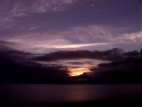 timelapse evening over puget sound - artbeats stock videos & royalty-free footage