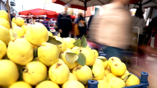 timelapse farmer's market - greengrocer's shop stock videos & royalty-free footage